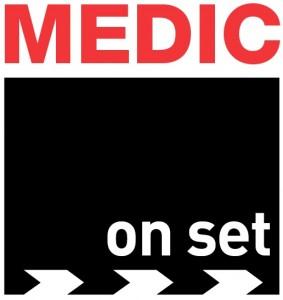 MEDIC on set